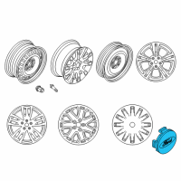 Ford Transit-350 Wheel Cover - BE8Z-1130-A and Related Parts
