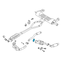 Ford Transit-350 HD Exhaust Manifold Gasket - BL3Z-9450-A and Related Parts
