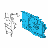 Ford Focus Fan Motor - CV6Z-8C607-L and Related Parts