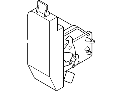 Ford 6S4Z-5426413-D Lock Assembly - Door