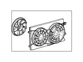 Ford Windstar Fan Motor - F58Z-8C607-AB