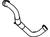 Ford Mustang Power Steering Hose - 4R3Z-3691-BA