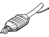 Ford Catalytic Converter - 2L8Z-5E212-AA