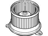Ford Transit Connect Blower Motor - 2T1Z-18568-A