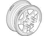 Ford F-150 Spare Wheel - YL3Z-1015-CA