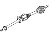 Ford Axle Shaft - CA8Z-3B436-E