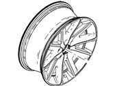 Ford Flex Spare Wheel - 8A8Z-1007-C