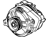 Ford Taurus Alternator - YF1Z-10V346-ERM