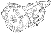 Mercury Transmission Assembly - 3W7Z-7000-DA
