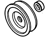 Ford Bronco II Alternator Pulley - FOVY-10344-B
