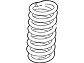 Ford E-350 Super Duty Coil Springs - F2UZ-5310-L