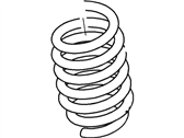 Lincoln Town Car Coil Springs - 3W1Z-5310-CA