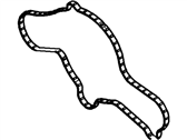 Lincoln Water Pump Gasket - DG1Z-8507-A