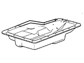 Ford Transmission Pan - F7TZ-7A194-CB