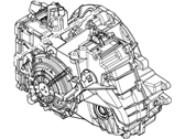 Ford Taurus X Transmission Assembly - 7T4Z-7000-G