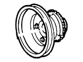 Ford Windstar Crankshaft Pulley - XF2Z-6312-AA