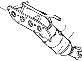 Ford Catalytic Converter - 5S4Z-5G232-LA