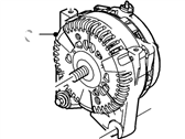 Ford Crown Victoria Alternator - F8OZ-10346-CA