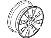 Mercury Spare Wheel - 6L9Z-1007-GA