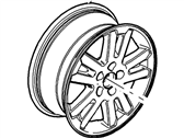 Mercury Spare Wheel - 6L2Z-1007-CA
