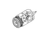 Lincoln MKX A/C Compressor - CT4Z-19703-B