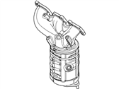 Lincoln Catalytic Converter - BT4Z-5G232-B