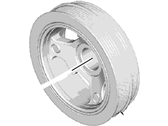Lincoln Crankshaft Pulley - DS7Z-6312-B