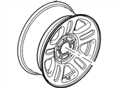 Mercury Mountaineer Spare Wheel - 6L2Z-1015-DA