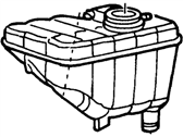 Lincoln Coolant Reservoir - 1W7Z-8A080-AA