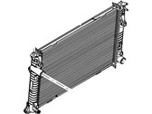 Lincoln MKZ Radiator - AE5Z-8005-A