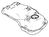 Ford Fuel Tank - 5M6Z-9002-AN