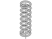 Ford Focus Coil Springs - 2M5Z-5B669-AA