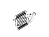 Ford Mustang Oil Cooler - DR3Z-6A642-A