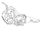 Ford E-350 Econoline Transmission Assembly - F5UZ-7000-HRM