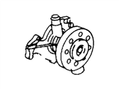 Mercury Water Pump - 1F1Z-8501-AA