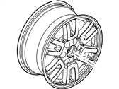Ford Expedition Spare Wheel - 7L1Z-1007-B
