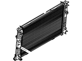 Lincoln MKZ Radiator - AH6Z-8005-A