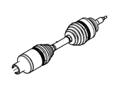Ford Axle Shaft - AL3Z-3A427-B