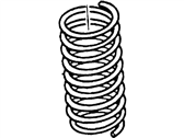 Mercury Mystique Coil Springs - F8RZ-5310-DB