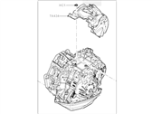 Ford Five Hundred Transmission Assembly - 5G1Z-7000-AE
