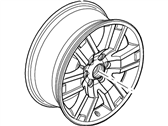 Ford Expedition Spare Wheel - 7L1Z-1007-DCP