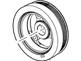 Ford E-350 Club Wagon Crankshaft Pulley - 2L3Z-6312-AA
