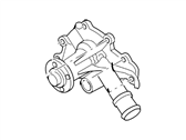 Ford Water Pump - 3R3Z-8501-BB