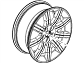 Ford Flex Spare Wheel - 8A8Z-1007-D