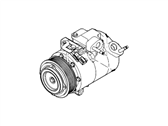 Ford A/C Compressor - BB5Z-19703-A