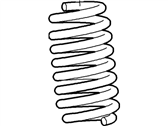 Ford E-350 Super Duty Coil Springs - F2UZ-5310-J