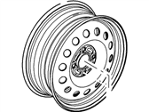 Ford Spare Wheel - 4S4Z-1007-AA