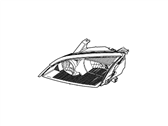 Ford Headlight - 7S4Z-13008-A
