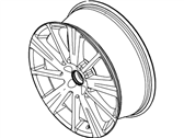 Ford Flex Spare Wheel - 9A8Z-1007-A