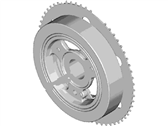 Lincoln Crankshaft Pulley - DS7Z-6312-A